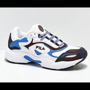 Fila Luminance Blue & White Shoes
